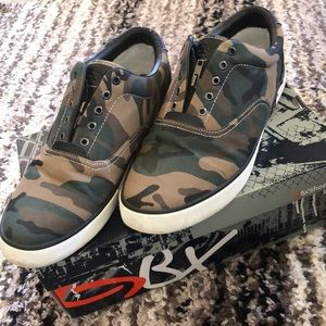 GBX Camo Slip-on Sneakers